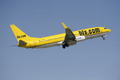 Airplane BOEING 737 Stock Image