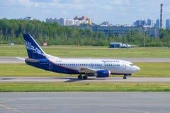 Airplane Boeing 737-500 VP-BKU of Nordavia airline