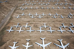 Airplane Boneyard Royalty Free Stock Photo