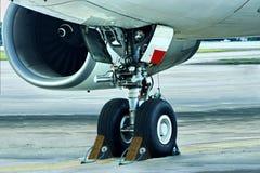 airplane busines concept controled parked στοκ εικόνες με δικαίωμα ελεύθερης χρήσης