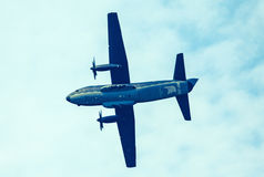 Airplane C-27 Spartan at airshow royalty free stock image