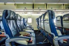 Airplane cabin Stock Photos