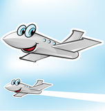 Airplane cartoon Royalty Free Stock Photo