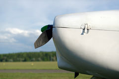 The airplane Stock Photography