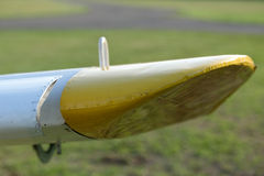The airplane Stock Photo