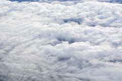 Airplane Cloudscapes Royalty Free Stock Photography