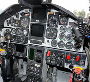 Airplane cockpit Royalty Free Stock Photo