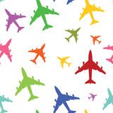 Airplane color texture Stock Image