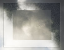 Airplane 3. A commercial airplane flying in the sky Royalty Free Stock Image