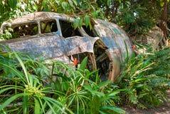 Airplane crash Royalty Free Stock Photography
