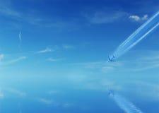 Airplane crash Royalty Free Stock Images
