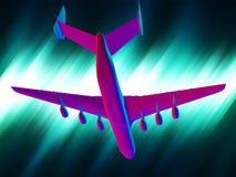 Airplane crash Stock Photography