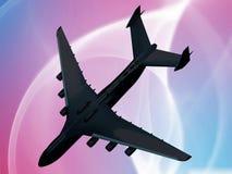 Airplane crash Royalty Free Stock Image
