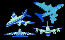 Airplane - 3d Stock Images