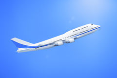Airplane 747 Royalty Free Stock Photography