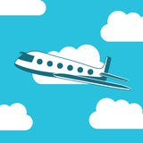 Airplane design Royalty Free Stock Images