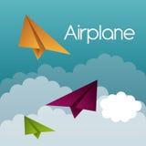 Airplane design. Stock Photography