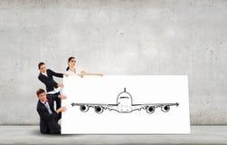 Airplane design Stock Photography