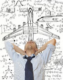 Airplane Designer Stock Photos