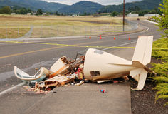 Plane Crash Royalty Free Stock Images