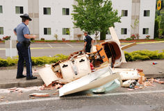 Plane Crash Stock Images