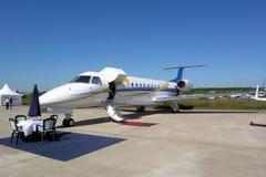 Airplane Embraer ERJ-135 Royalty Free Stock Image