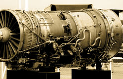 Airplane Engine Stock Image