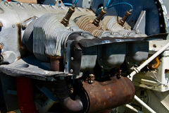 Airplane Engine. An engine from a Cessna airplane Royalty Free Stock Photography
