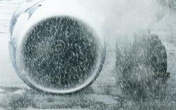 Airplane engine Stock Photography