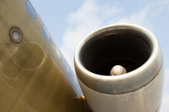 Airplane engine Royalty Free Stock Photo