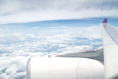 Airplane engine Royalty Free Stock Image