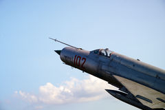 Airplane fighter Stock Images