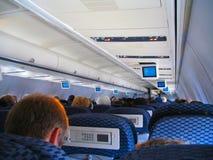Airplane flight Royalty Free Stock Photo