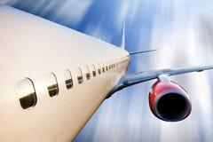 Airplane in Flight Stock Photos