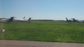 Airplane stock video