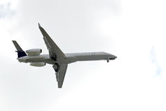 Airplane Flying Royalty Free Stock Photography