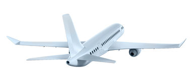 Airplane flying away. My own design. Airplane flying away. My own 3D design vector illustration
