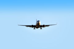 Airplane flying Royalty Free Stock Images