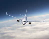 Airplane flying Stock Photography