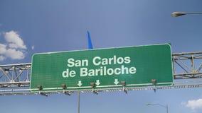 Airplane Landing San Carlos de Bariloche