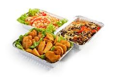 Airplane Food Royalty Free Stock Photo