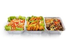 Airplane Food Royalty Free Stock Image