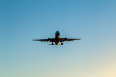 Airplane Glide Stock Photography
