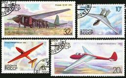 Airplane glider Stock Image
