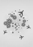 Airplane graphic Stock Photos