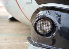 Airplane headlight Stock Photography