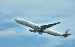 Airplane of Hongkong Dargonair company Stock Image