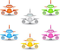 Airplane icon Stock Image