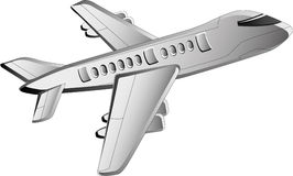 Airplane icon Stock Photography