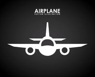 Airplane icon Royalty Free Stock Image